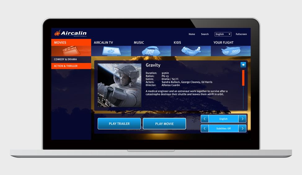 ACI IFE GUI screen designs (Board Connect - Desktop)